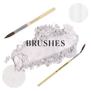 category boxes - brushes